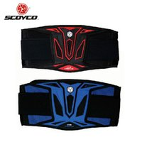 Wholesale SCOYCO Motorcycle Waist Belt Motocross Racing Waist Protector Guards Kidney Sports DH Off Road Waist Protector Support