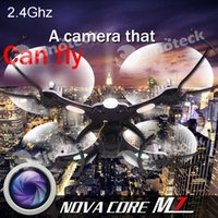 aircraft lamps - Camera Drones NOVA CORE M7 RC Drone Six Axis Gyroscope Aircraft Led Lamp Four Channel GHZ Degree Rotation Free DHL