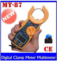 Wholesale Brand New Digital Clamp Meter Multimeter Current Voltage AC DC Electronic Tester High quality