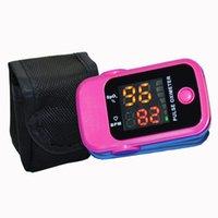 sh - Health care SH D1 CE FDA LED Display Portable Finger Pulse Oximeter Blood Oxygen SpO2 Saturation Oximetro Monitor with case