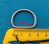 Wholesale pieces mm Metal silver CM D buckles Garment Accessories d bags buckle Luggage hardware materials