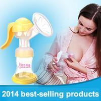 best milk pump - Best baby manual breast pump mother care Milk bottle massage milk pump milk sucking extractor de leche