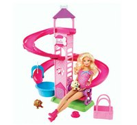 Wholesale Original Genuine Brand Barbie Doll Barbie Slide Spin Pups Playset Y1172 child Toys New Year Gift