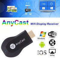 Cheap AnyCast M2 Plus Ipush VS Ezcast Smart TV Dongle RK2928 WiFi DLNA Miracast Airplay Airmirror for Android IOS Mac Windows iPhone S5 HTC