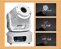 Wholesale White Case W LED Moving Head Light with Spot prisms gobos LED Stage Light For Stage Lighting Effect