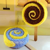 baby washcloth lollipops - Lovely Washcloth Towel Lollipop Shaped Towel Bridal Baby Shower Wedding Party FavorE5M1