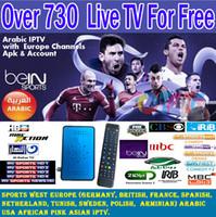 Wholesale AZ TG Year Free POPTV Arabic IPTV Europe French UK IPTV IKS CCCAM Support Satellite Receiver Mini Android DVB S2 DVB S2 Box