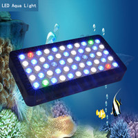 aquarium led lighting - High quality Dimmable w LED aquarium light for coral and reef LEDs w epistar chips with optical lens dropshipping