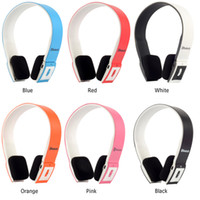 Wholesale NEW Bluetooth Headset Wireless Stereo Bluetooth Headphones for Galaxy S3 S4 NOTE iPhone Tab USB data cable PC SPHG