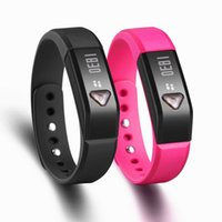 vibrating bracelet - IP65 Waterproof X5 I5 Wristband Bracelet Bluetooth Smart Bracelet Wristband watch For iPhone Android Smartphone Sports Sleep tracker vibrate