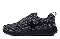 Cheap NIKE Roshe One x Yeezy 350 Boost low men runing shoes cheap nikelis roshe run athletic shoes breathable summer Mens nike Roshes sports shoes
