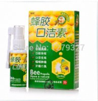 Wholesale 5pcs ml bee propolis mouth clean Oral spray treatment of oral ulcer pharyngitis halitosis treatment breath fresheners