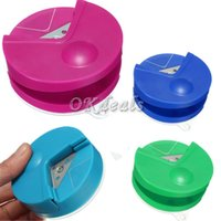 Wholesale 2015 R4 Corner Rounder mm Paper Punch Card Photo Cutter Tool Craft Scrapbooking DIY Random Color