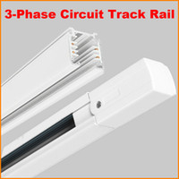 aluminium railing systems - DHL M Lighting Track Phase Circuit Wires Aluminium Track Light Rail System For Ceiling Spot Light Tracks Square Meter Black White