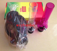 Cheap Free Shipping Gas Mask Water Pipes - Sealed Acrylic Hookah Pipe - Bong - Filter Smoking Pipe