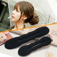 Wholesale New Arrivals Magic Sponge Hair Styling Bun Maker Twist Curler Tool SX10