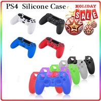 Cheap For PS4 Silicone case for PS4 Best Pink, Black, White, Red, Blue, Green. Silicone For PS4 silicone case