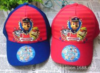animal hat paws - 5pcs Paw Sun Hats Patrol Kids Hats Childrens Cartoon Animal Dog Caps Baseball Caps Boys Girls Hats Casual Caps bk028