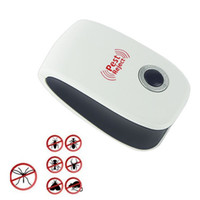 Wholesale Electronic Ultrasonic Anti Pest Mosquito Mouse Repellent Repeller Killer Machine EU Plug JT