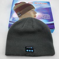 Wholesale Wireless Bluetooth headset music hat ideal warm winter hats headset handsfree