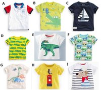 animal jumps - NEW kids Jumping baby t shirt boy Children s boys girls t shirt cartoon infant short sleeve bottoming base cool fashion top cotton A11
