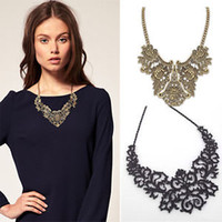 stainless steel collar - retail Vintage Women Jewelry Necklace Chain Statement Bubble Bib Chunky Collar Party