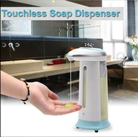Wholesale iRulu NEW arrival ML Automatic Touchless IR Sensor Liquid Soap Dispenser for Kitchen Bathroom