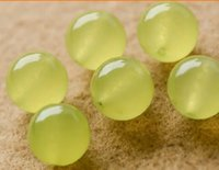 Wholesale mm Natural Grapes Crystal Stone green chalcedony beads round Bead Natural Crystal DIY jewelry Accessories Loose Beads