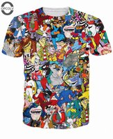 anime swan - OPCOLV Fashion Men Women Anime Cartoon T Shirts Dragon Ball Toy Story Camel Swan Cat Animal Printed Tee Shirts Harajuku Tees