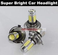 Wholesale H1 H3 H4 H7 H8 H11 W Super Bright Car LED Front Headlights Xenon Parking Car Styling