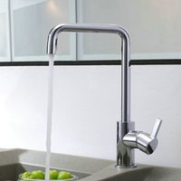 Wholesale Freeshipping Swivel Kitchen Faucets Bathroom Basin Mixer Tap Brass Faucet
