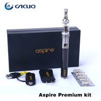 Wholesale Aspire Premium Starter Kit E Cigarette Aspire Mini Nautilus BVC Atomizer mAh CF VV Battery Original Premium