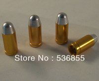 Wholesale Metal material bullet shape car tire valve cap bag fast shipping service offered