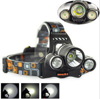 Wholesale BORUIT W Lm x XM L L2 LED Headlamp Fishing Headlight USB Charger