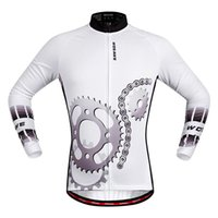 racing wear - WOSAWE Quick Dry Breathable Cycling Jersey Long Sleeve Men s Shirt Bicycle Wear Racing Tops Cycling Clothings for All season