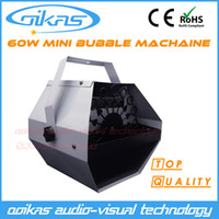 Wholesale bubble machine W Remote control Mini Machine Stage Effect Machine wedding show stage lighting equipment smoke machine Foam Machine