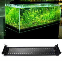 Wholesale 2015 New W Aquarium LED Lights V SMD Blue And White Mode Decorative Lamp For Fish Plant Lighting With EU UK US Plug epistar chip