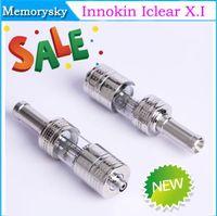 Cheap 100% Original Innokin Iclear X.I Pyrex Atomizer 3.0ml for Mini Itaste 134 with Rotatable Drip Tips for ego 510 thread e cig Battery 002562