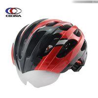 Wholesale Innovative helmet riding helmet with goggles mold helmet bicycle helmet mountain bike