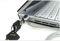Wholesale 180pcs LEAO Laptop PC Notebook Security Cable Chain Key Lock
