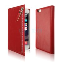 pocket books - Fashion For Galaxy S6 NOTE4 iphone6 plus s TPU Book Case The wallet Photo Fram pocket zipper PU Leather Case For S6 EDGE M9 iphone6