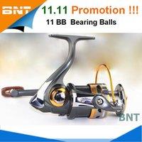Cheap High Quality Fishing Reel 11BB Bearing Balls 1000 - 6000 Series Spinning Reels Sale for Feeder Fishing