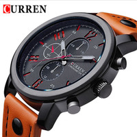 al por mayor relojes para hombres curren-Relogio Masculino Moda Montre Homme Reloj Hombre Cuarzo-Reloj Curren Hombre Reloj Relojes de Pulsera Hombre Curren Relojes 2017