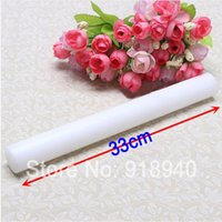 Cheap 33cm Fondant Cake Decorating Sugarcraft Rolling Pin Roll Baking Tools Kitchen Mold