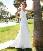 Cheap Trumpet/Mermaid 2015 Beach Wedding Dress Best Reference Images 2016 Spring Summer 2015 Destination Wedding Dresses