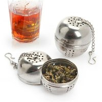 Wholesale New Arrivals Tea Infuser Filter Mesh Ball Strainer CookingTools Stainless Steel Size CM JA85