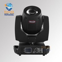 110V beam lighting effects - Lowest Price W Channels R Sharpy Moving Head Beam light Gobo Beam Effects with phase Motor lens Combined LCD display