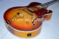 Wholesale instruments Sunburst Classic L Jazz Guitar High Quality EMS