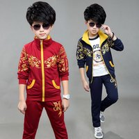 age worsted - New xayakids In the spring of new boys suits the Chinese children age two sets of children s sports leisure wear sweater
