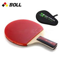 Wholesale Quality TIMO BOLL table tennis racket pat Original with racket bag PINGPONG paddle In penholder handshake wholesales fast